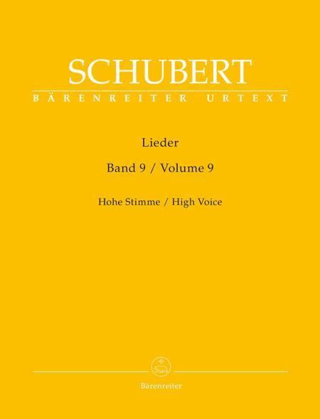Lieder, Band 9 (Hohe Stimme)