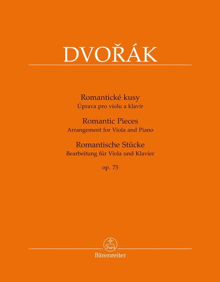 Romantische Stucke, op. 75 (Bearbeitet for Viola und Klavier)