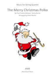 The Merry Christmas Polka - String Quartet/Orchestra