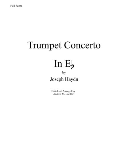 Haydn - Trumpet Concerto in Eb transcribed for Concert Band - First Movement (Score and Parts)