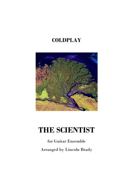 THE SCIENTIST by Coldplay - Guitar Ensemble (Score Only)