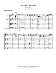 Ashokan Farewell - String Quartet