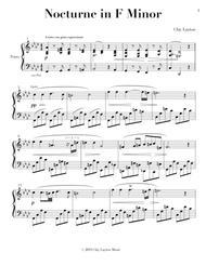 Nocturne in F Minor