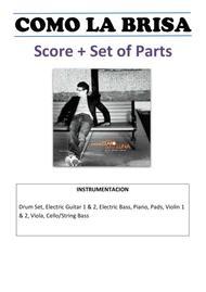 Como la Brisa - Jesús Adrián Romero  Score + Set of Parts