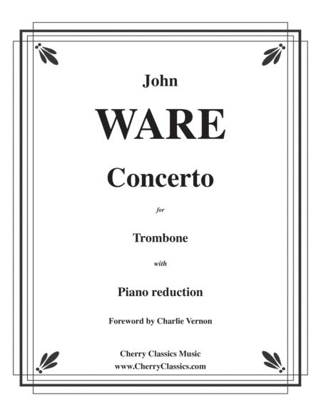 Concerto for Trombone and Piano accompaniment (piano reduction)
