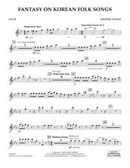 Fantasy on Korean Folk Songs - Flute