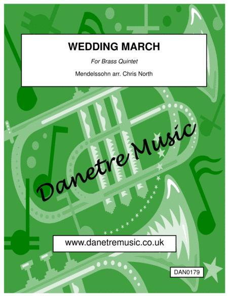 Wedding March (Brass Quintet)
