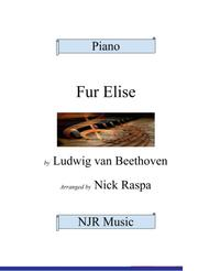 Fur Elise (easy elementary piano)