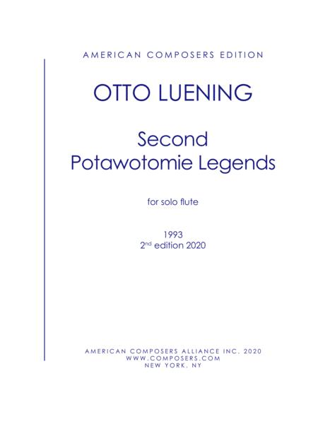[Luening] Second Patowatomie Legends