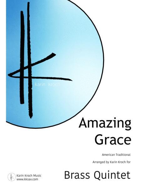 Amazing Grace - Majestic arrangement for Brass Quintet