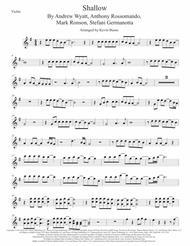 Shallow, Violin (Original key)