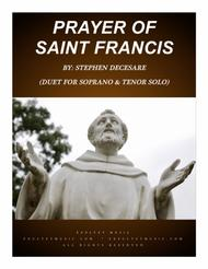 Prayer Of Saint Francis (Duet for Soprano and Tenor Solo)