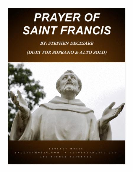 Prayer Of Saint Francis (Duet for Soprano and Alto Solo)