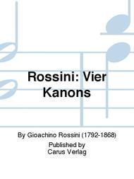 Rossini: Vier Kanons