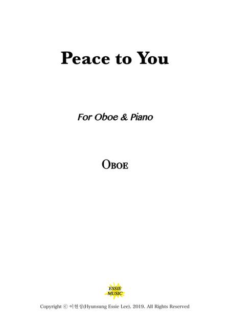 Peace to You / Oboe & Piano