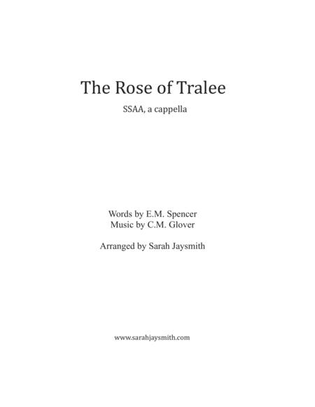 The Rose of Tralee (SSAA, a cappella) arranged by Sarah Jaysmith