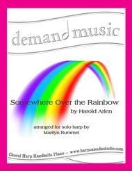 Over The Rainbow (from the Wizard of OZ) -  Solo Harp (lever or pedal)