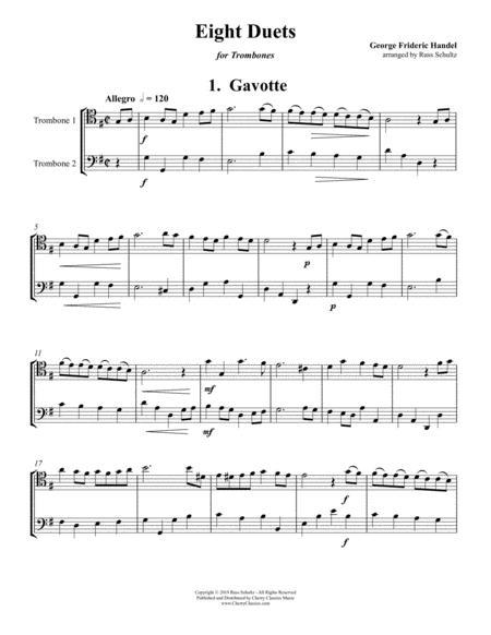 Eight Duets for Trombones