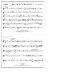 Motown Production 2 (arr. Tom Wallace) - Clarinet 2