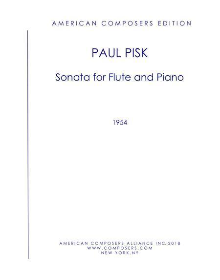 [Pisk] Sonata for Flute and Piano