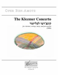 Klezmer Concerto - for clarinet, strings, harp, and percussion