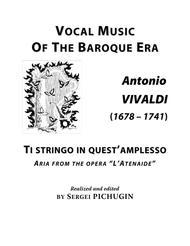 VIVALDI Antonio: Ti stringo in quest'amplesso, aria from the opera
