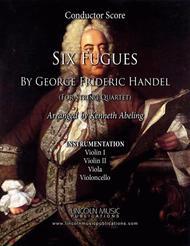Handel – Six Fugues by George Frideric Handel (for String Quartet)