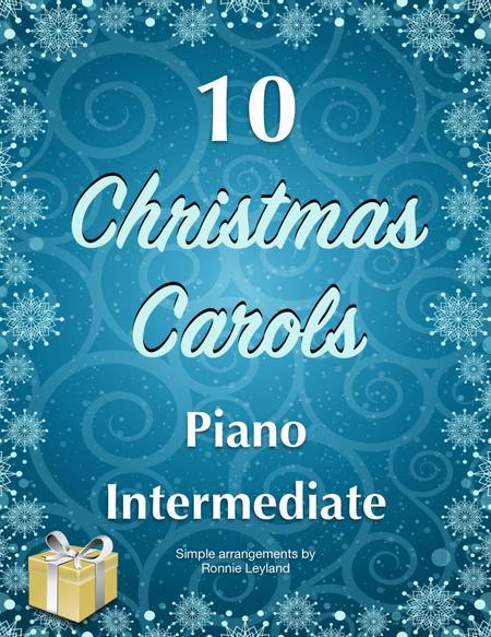10 Christmas Carols For Intermediate Piano