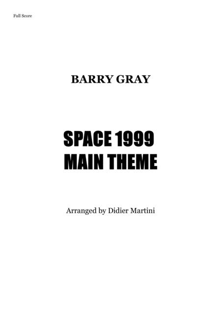 Space 1999 Main Title (Season 1) // For Rock Band and Brass