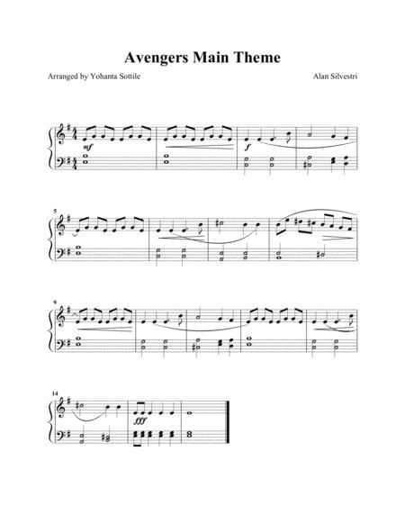 The Avengers Main Theme (Easy Children Piano)