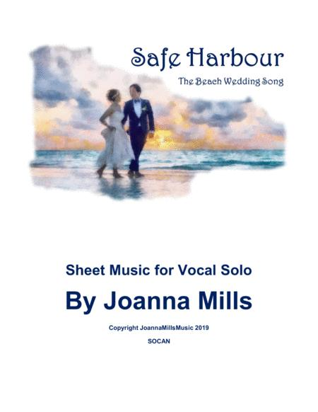 Safe Harbour (The Beach Wedding Song) Key of F