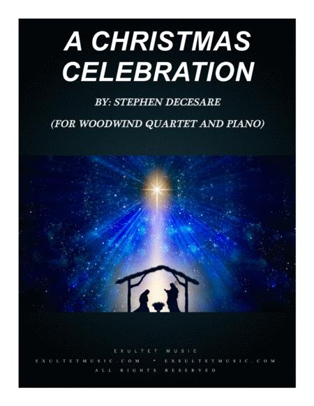 A Christmas Celebration (for Woodwind Quartet and Piano)