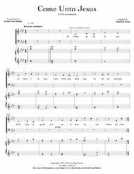 Come Unto Jesus (SATB w/ piano)