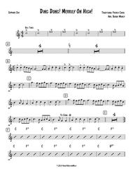 Ding Dong! Merrily on High! Sax Quartet SATB or AATB