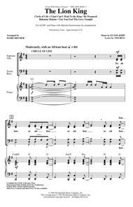 The Lion King (Medley) (arr. Mark Brymer)