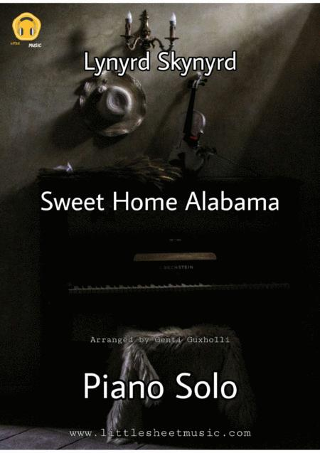 Sweet Home Alabama Piano Solo By Lynyrd Skynyrd Digital