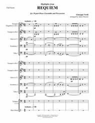 Requiem Highlights for 10-part Brass Ensemble & percussion