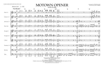 Motown Theme Show Opener (arr. Tom Wallace) - Wind Score