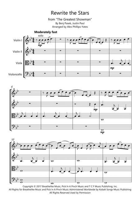 Rewrite The Stars from