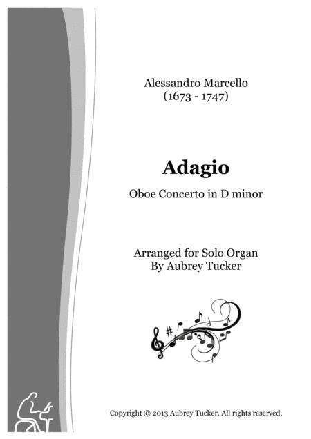 Organ: Adagio (Oboe Concerto in D minor) - Alessandro Marcello