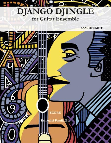 Django Djingle for Guitar Ensemble