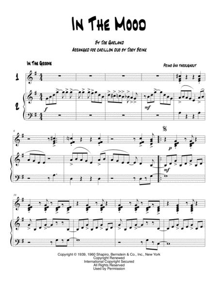 In The Mood, for carillon duet