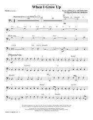 When I Grow Up (from Matilda: The Musical) (arr. Roger Emerson) - Bass