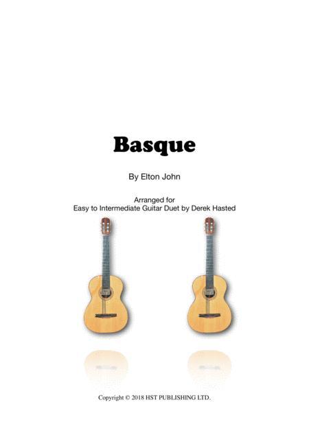 Basque (Elton John) for 2 guitars