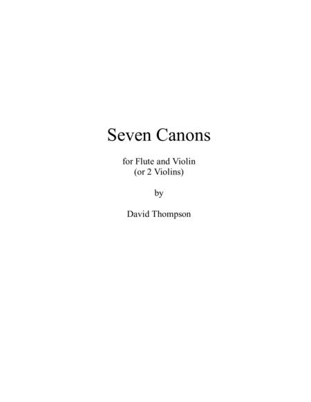 7 Canons