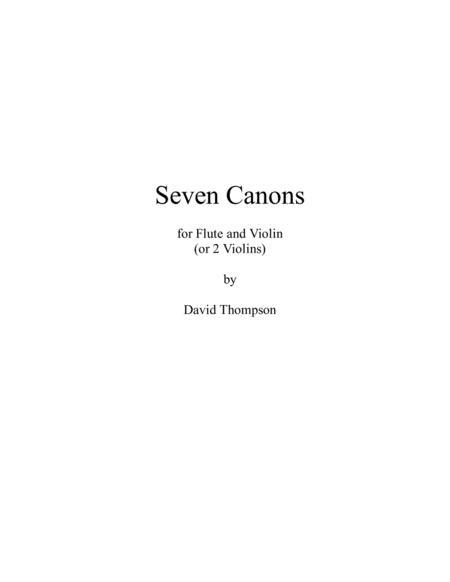 7 Canons