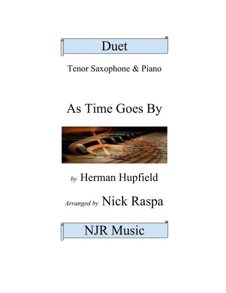 As Time Goes By - Tenor Sax & Piano - intermediate