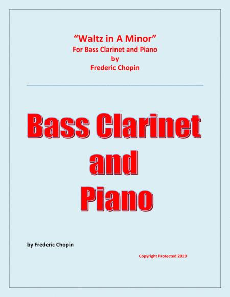 Waltz in A Minor (Chopin) - Bass Clarinet and Piano - Chamber music