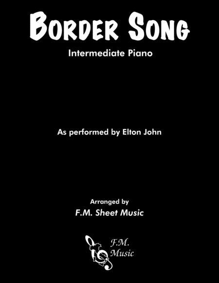 Border Song (Intermediate Piano)