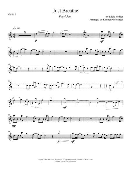 Just Breathe - String Quartet